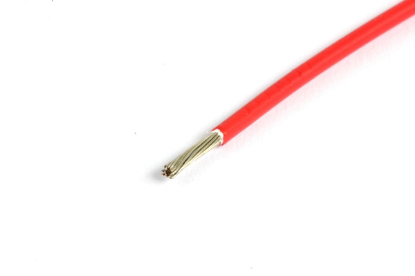 Kabel SPEC 44 Wire, AWG22, rot, 1m