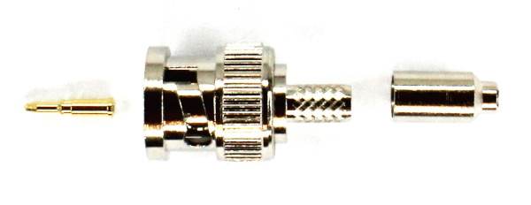 BNC-Stecker Crimpverbindung 50 Ohm