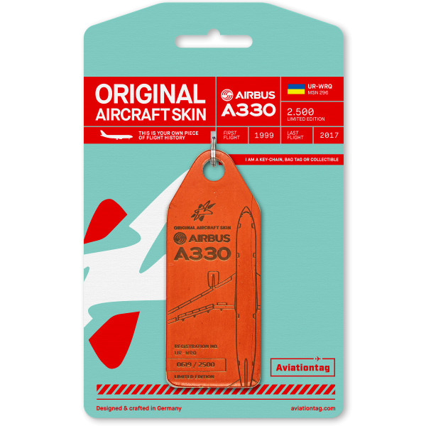 Aviationtag - Airbus A330 - URWRQ2-red